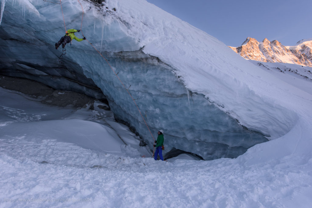 Iceclimbing-Sunset-Glacier-Switzerland-photographer