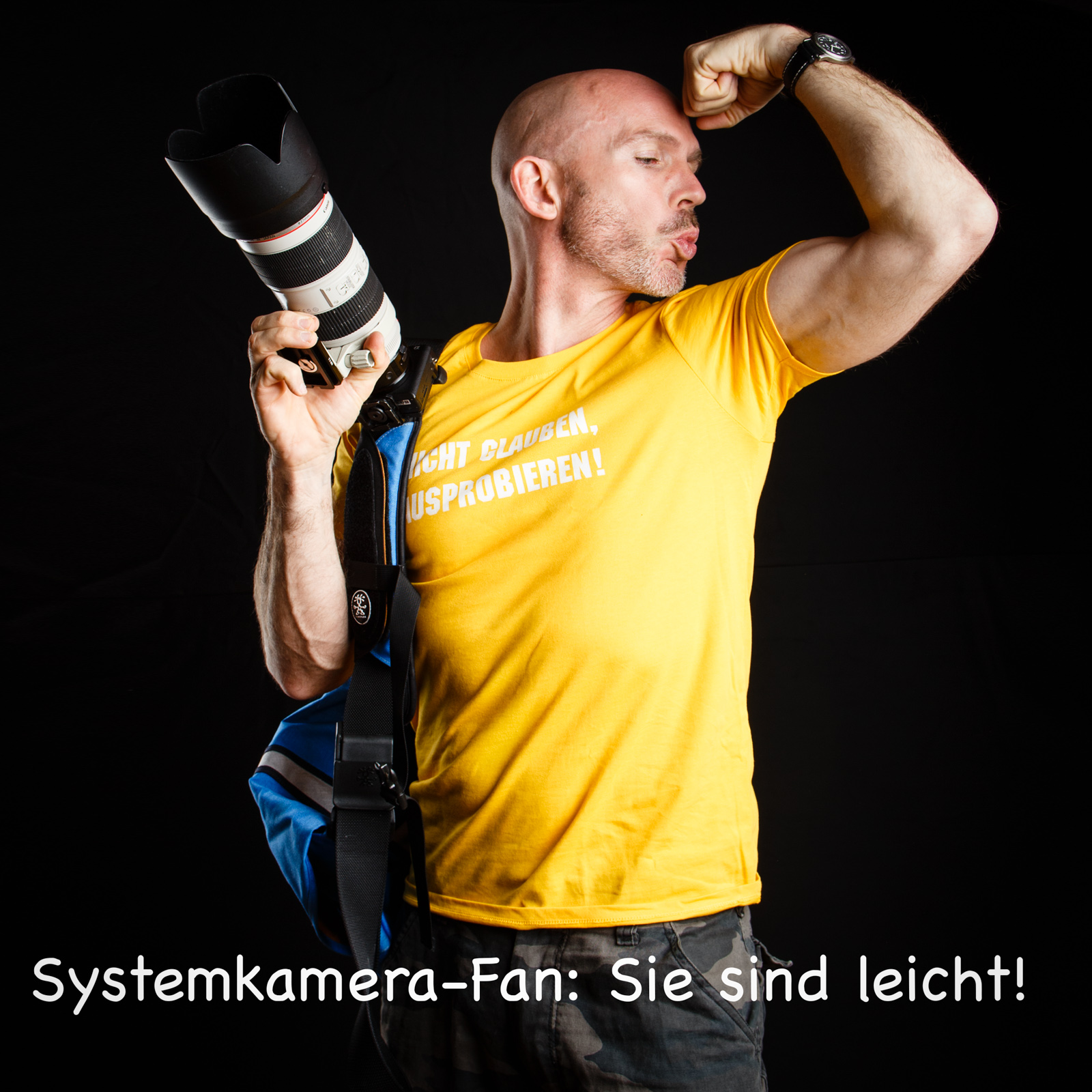 Fun-Selfies im Fotostudio in Bern