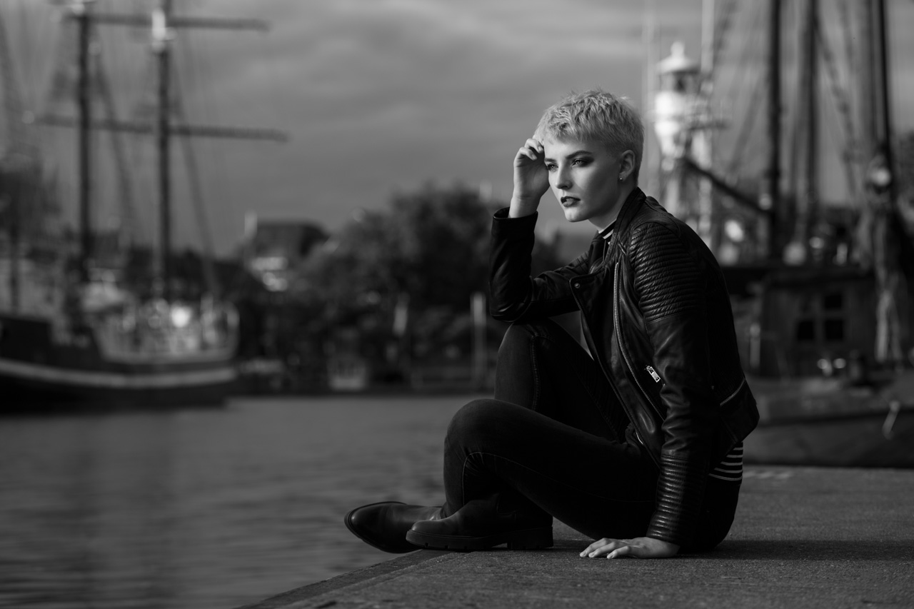 Outdoor Portrait Workshop in Emden am Hafen