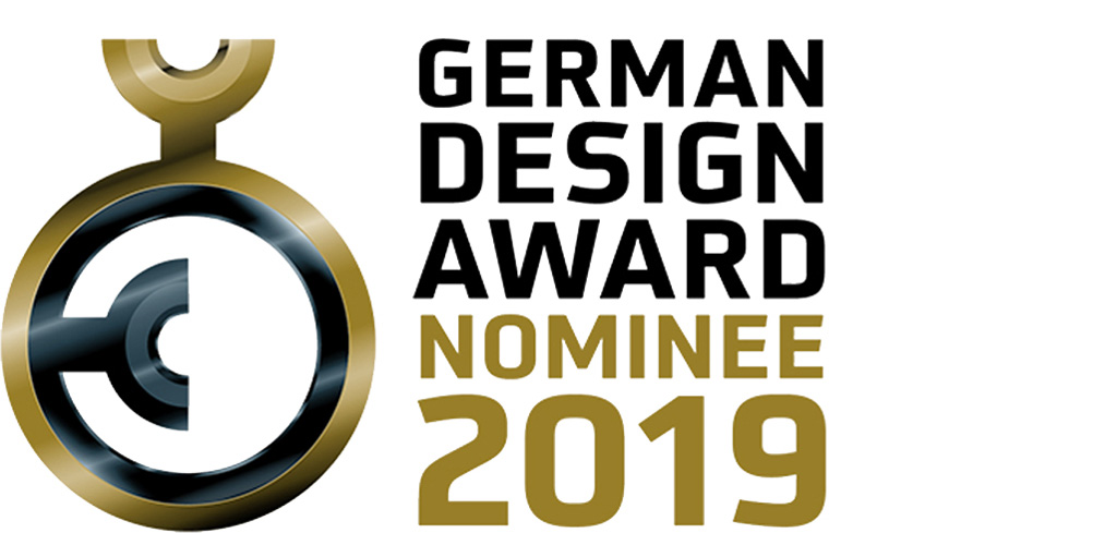 Nominiert für den German Design Award